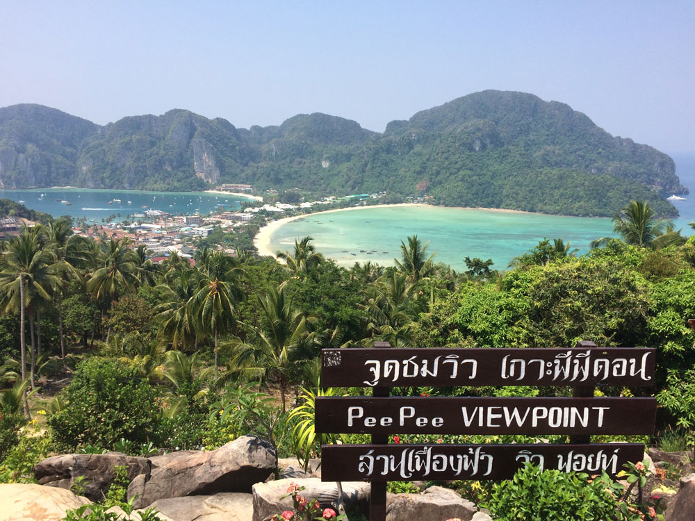 O íncrivel ViewPoint da Ilha Ko Phi Phi Don