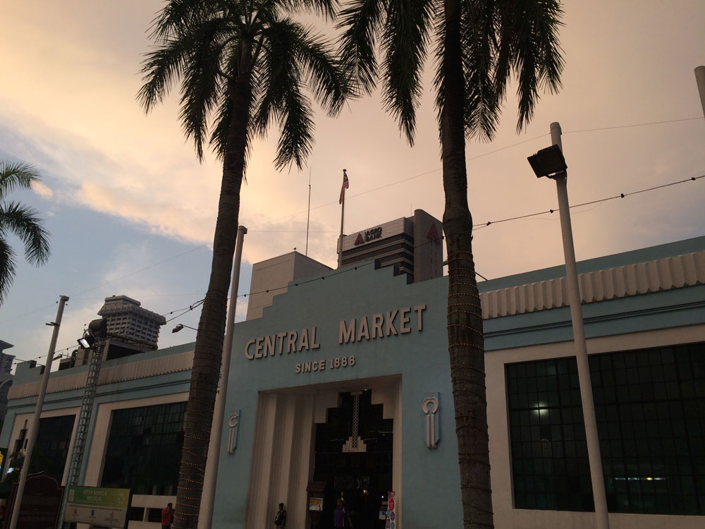 Por do sol no Central Market